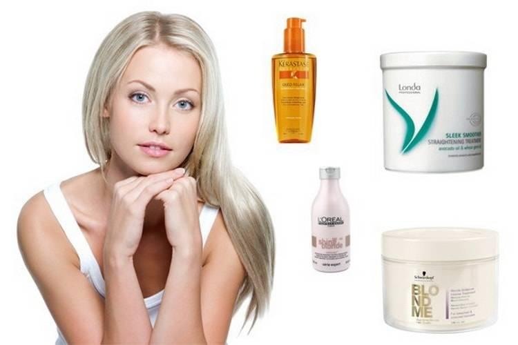 Чем обесцветить волосы самостоятельно или в салоне - щадящие профессиональные средства окрашивания