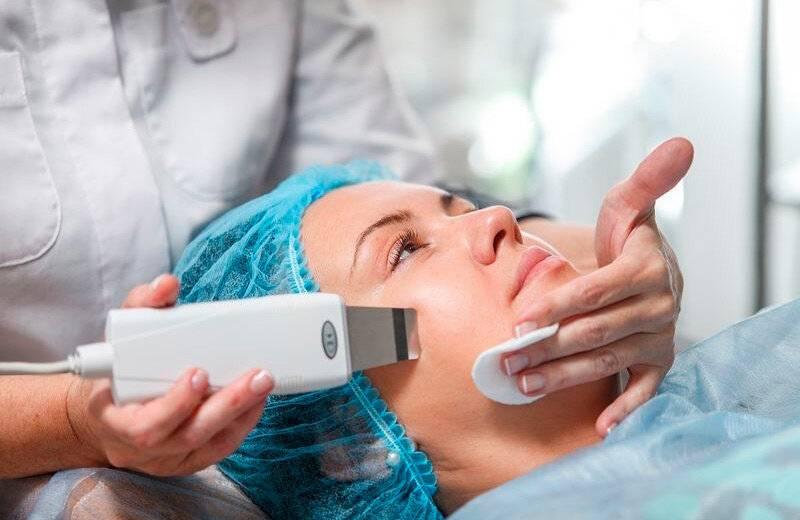 Ультразвуковой пилинг лица. советы, показания, уход за кожей
