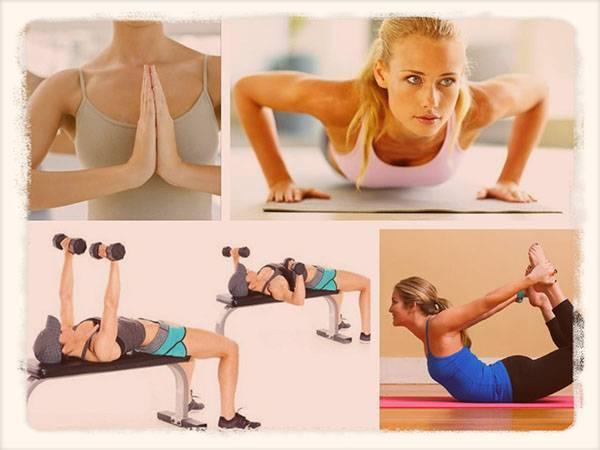 Как подтянуть грудь: упражнения, народные средства