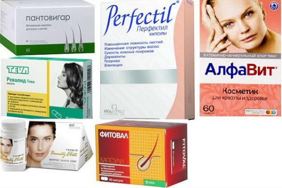 Лучшие женские витамины для борьбы с выпадением волос