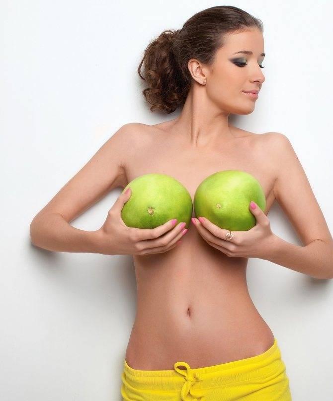 Какие бывают формы женской груди