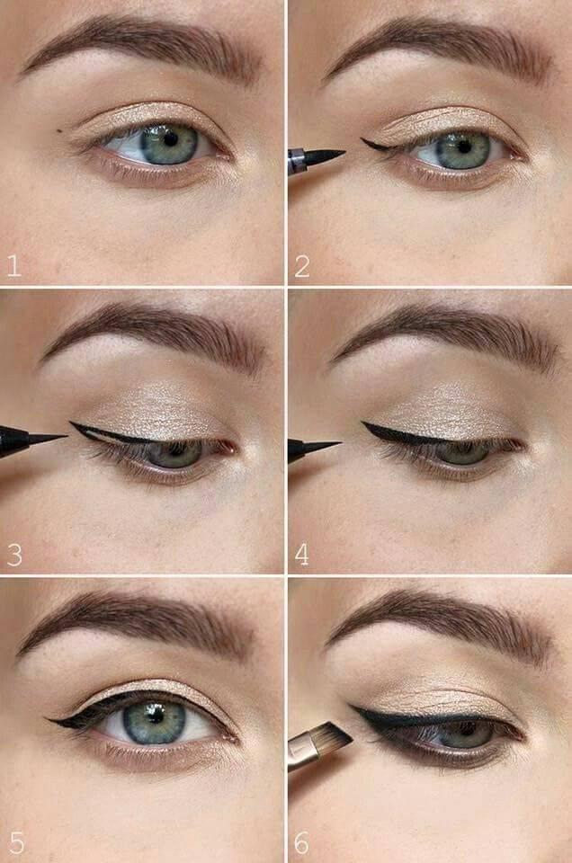 Как рисовать стрелки на глазах: карандашом, подводкой + 100 фото