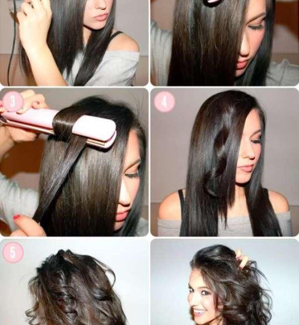 Укладка утюжком на средние волосы: особенности, подбор вариантов, инструкция