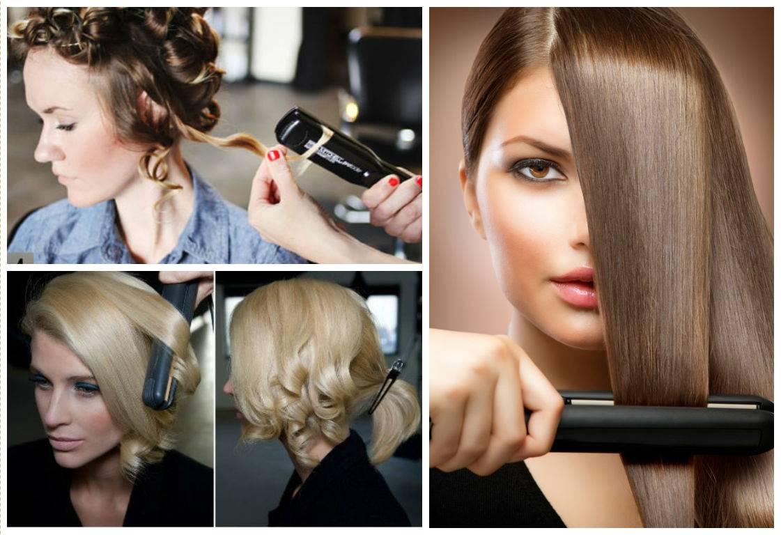 Как накрутить волосы на утюжки:разные виды локонов, для любой длины с фото и видео? накручиваем волосы на утюжок для выпрямления. секреты парикмахеров