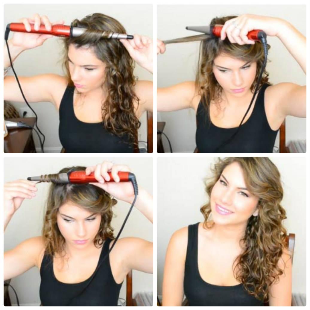 Как накрутить волосы на плойку