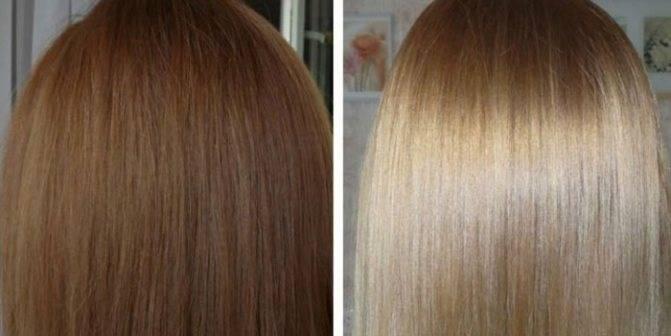Как смыть с волос краску профессиональными средствами в домашних условиях