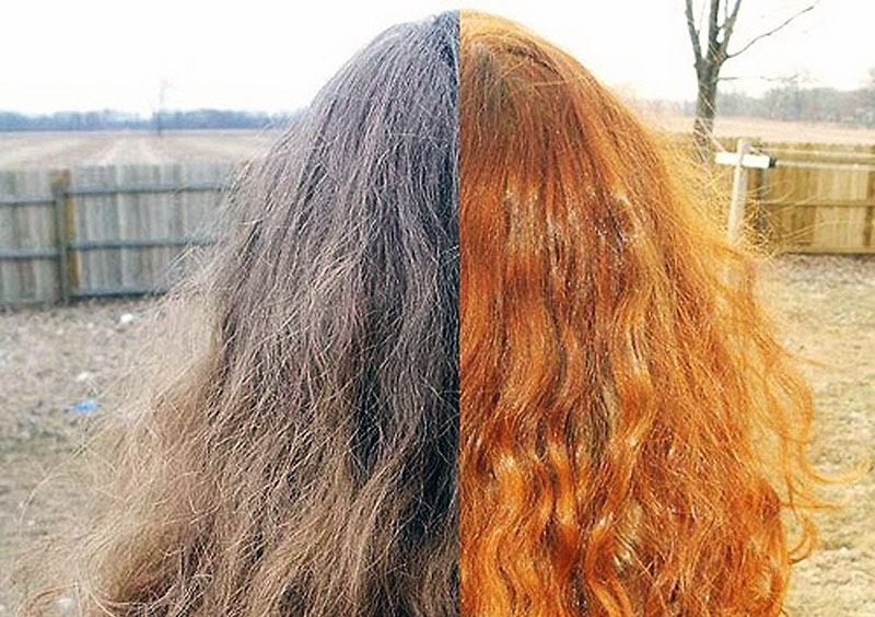 Луковая шелуха для волос. как покрасить волосы