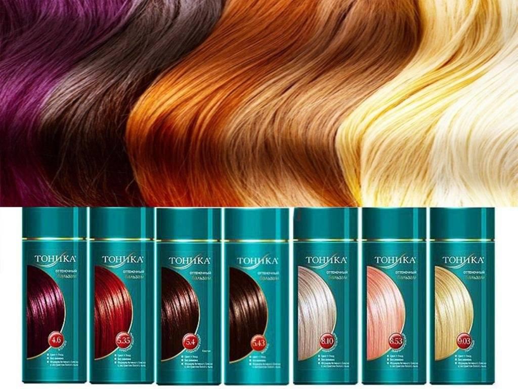 """Тоник для окрашивания волос """"тоника"""": палитра оттеночных шампуней, плюсы и минусы средств, а также правильное использование и противопоказания к применению"""