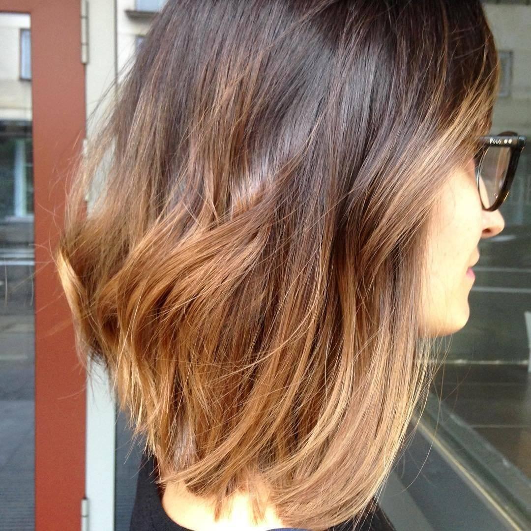 Фото: балаяж на тёмные, светлые волосы техника окрашивания