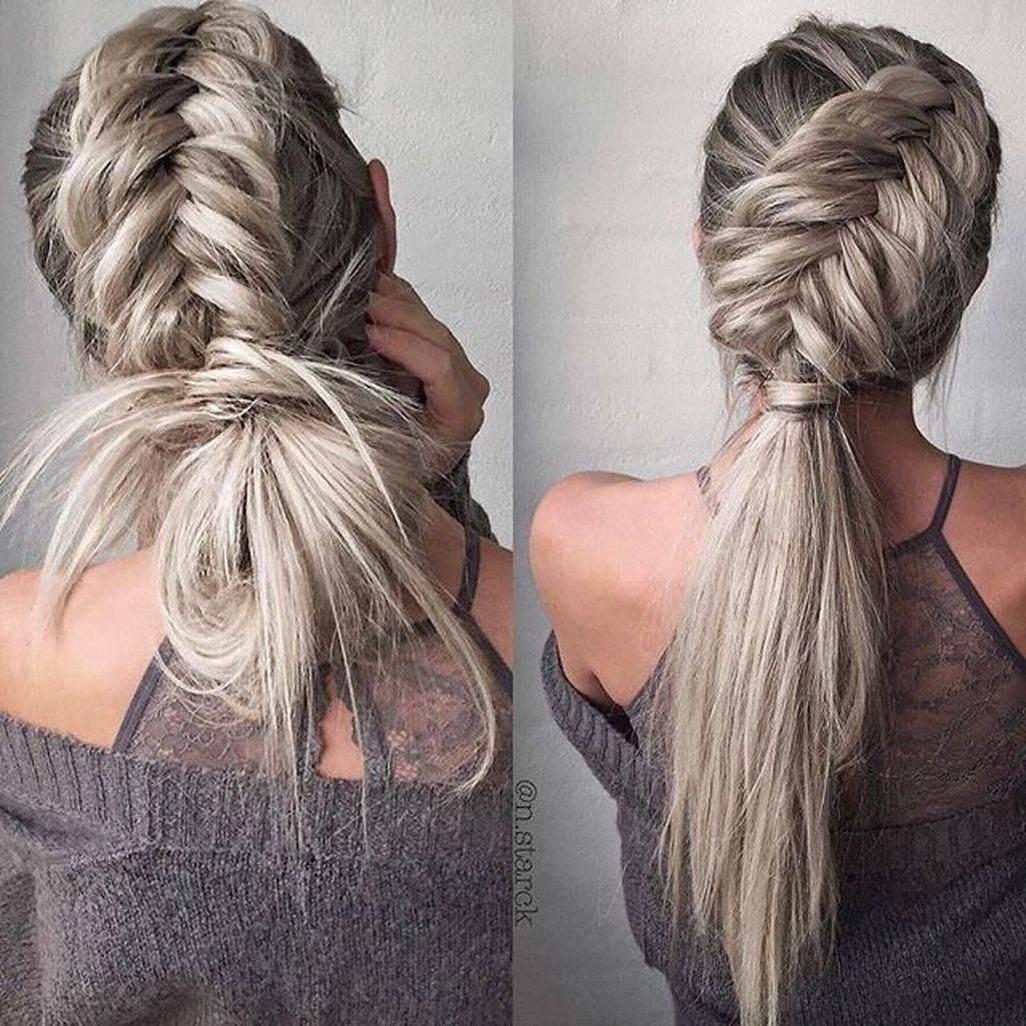 Как заплести самой себе косу: пошаговая инструкция, идеи и варианты, фото