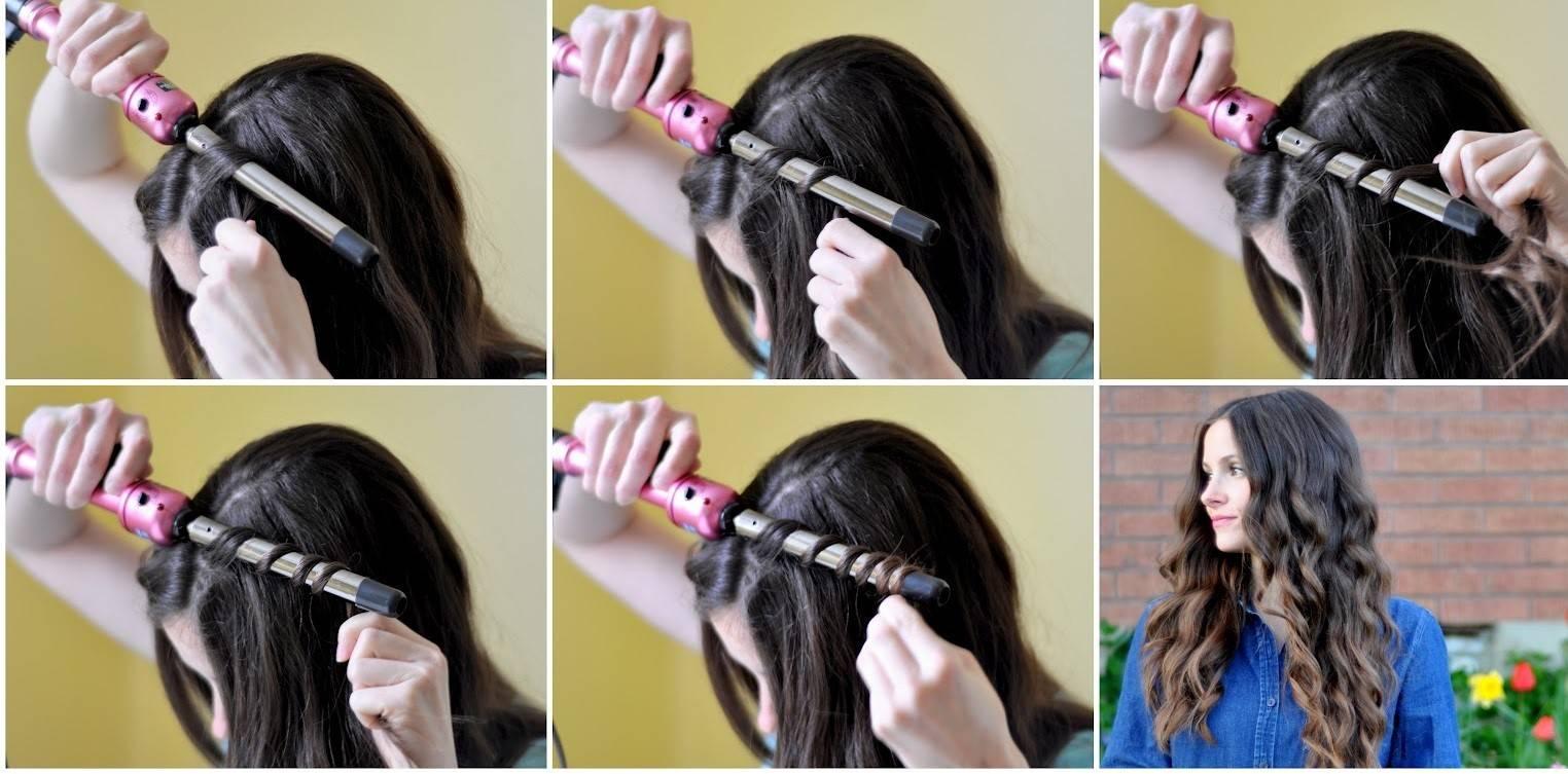 Как сделать локоны на длинные волосы в домашних условиях
