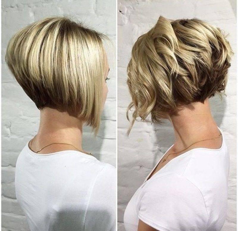 Стрижка градуированный боб-каре на средние, длинные и короткие волосы: фото