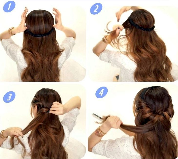 Как сделать прическу на длинные волосы: инструкции