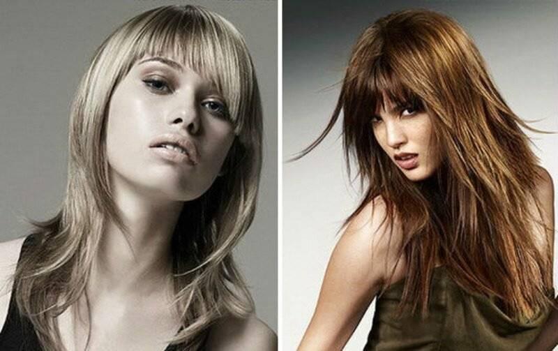 Стрижки с длинной челкой (61 фото): варианты современных стрижек на длинные и короткие волосы с удлиненной челкой, модные примеры