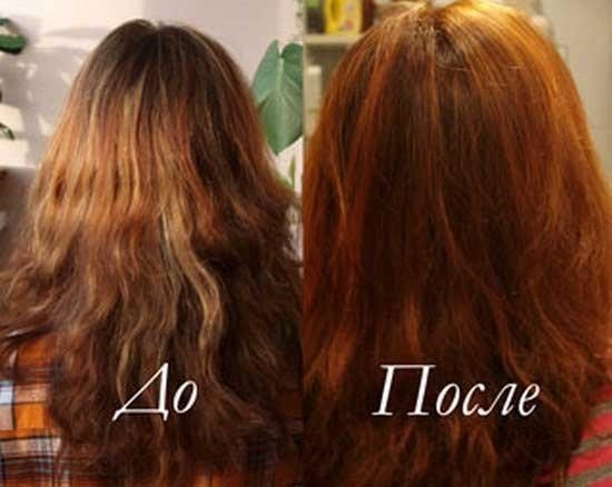 Окрашивание волос луковой шелухой в домашних условиях