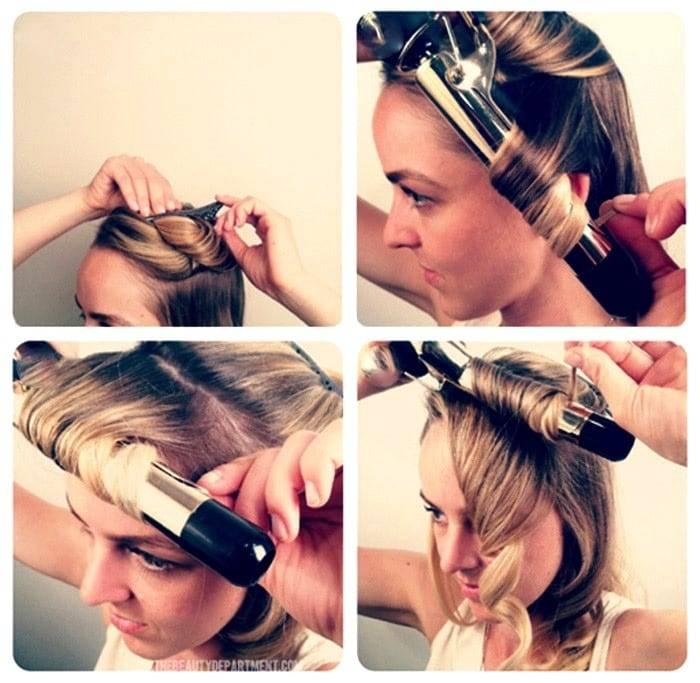 Как правильно накручивать волосы на плойку, чтобы долго держались короткие, длинные, средние локоны