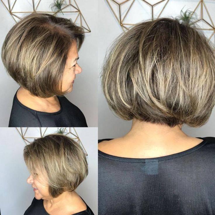 Стрижка боб на короткие волосы - стрижка для всех возрастов