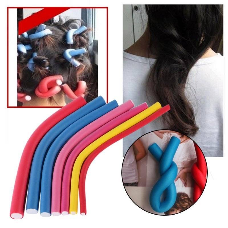 Как правильно накручивать бигуди на длинные и средние волосы