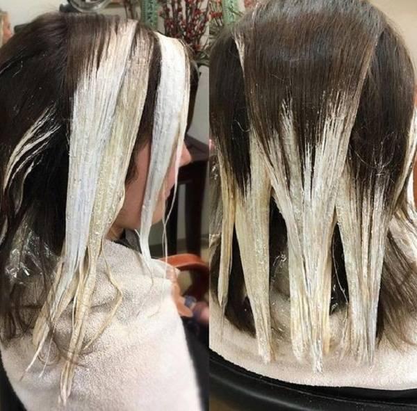 Омбре окрашивание на средние и длинные волосы – техника выполнения