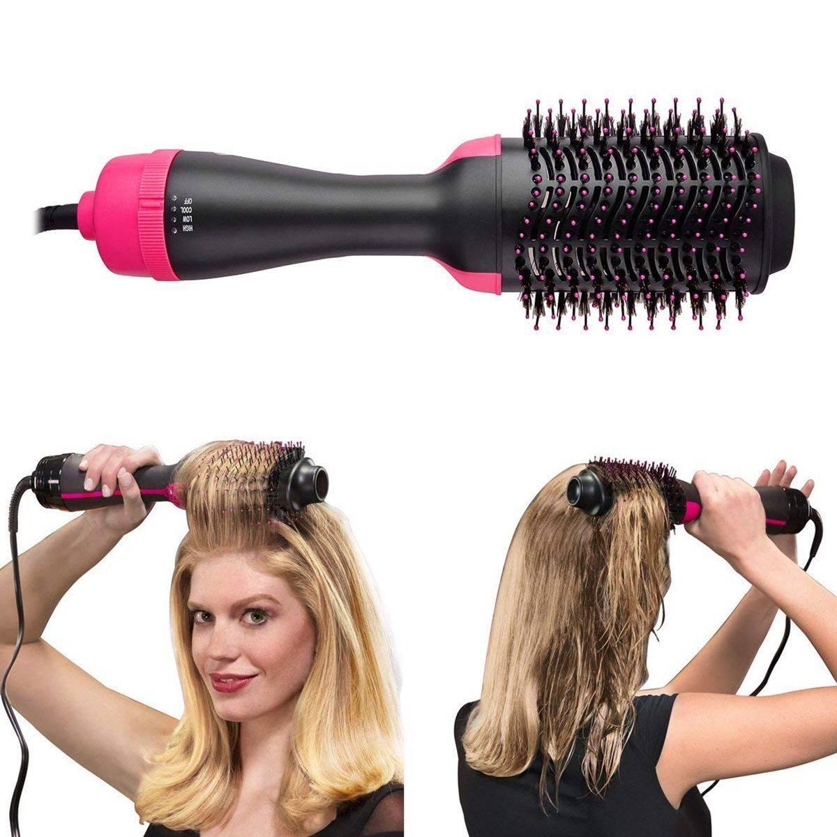 Как выбрать фен-щетку (стайлер) или фен-расческу для волос