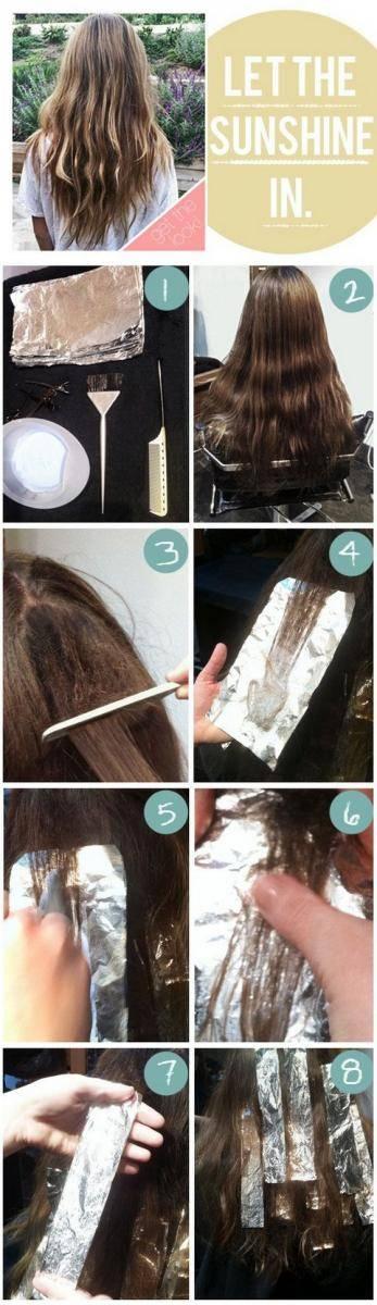 Омбре на русые волосы: техника окрашивания и советы по уходу