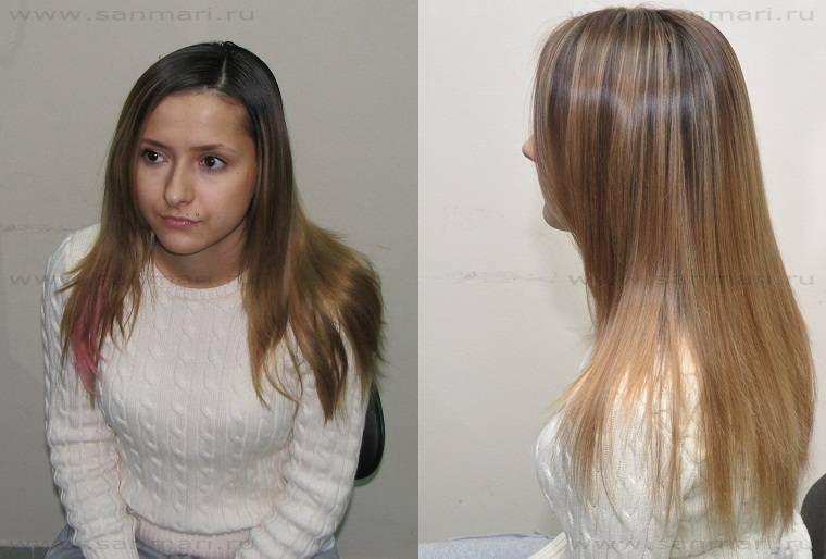 Все варианты тонирования светлых волос