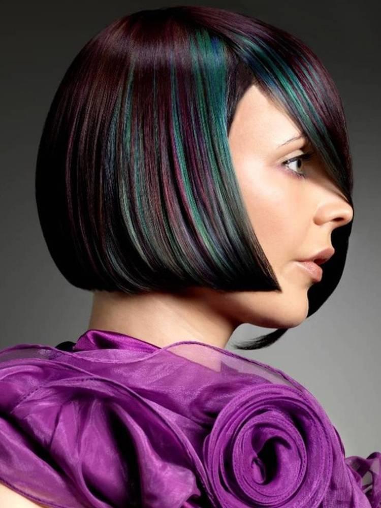 Модное окрашивание волос 2021-2022 года: фото, модные цвета окрашивания волос