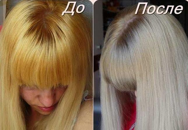 Осветляющая краска для волос без желтизны отзывы 2019 год