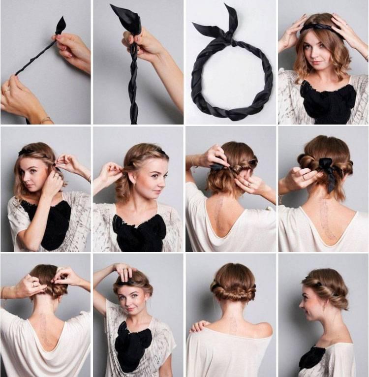 Греческие прически на линные, средние и короткие волосы фото