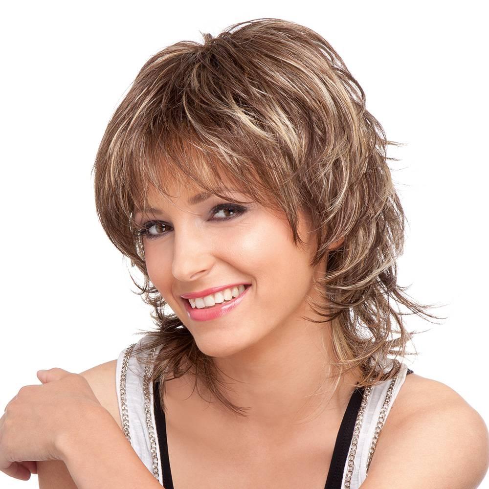 Женские стрижки и прически для прямоугольной формы лица