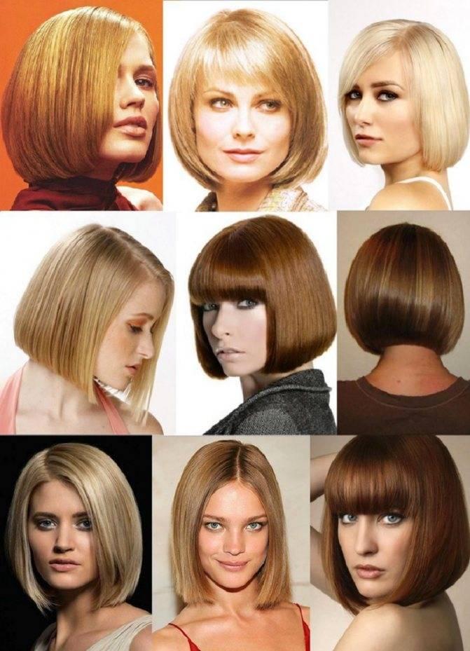 Стрижки с челкой на средние волосы: разновидности, особенности подбора и укладки