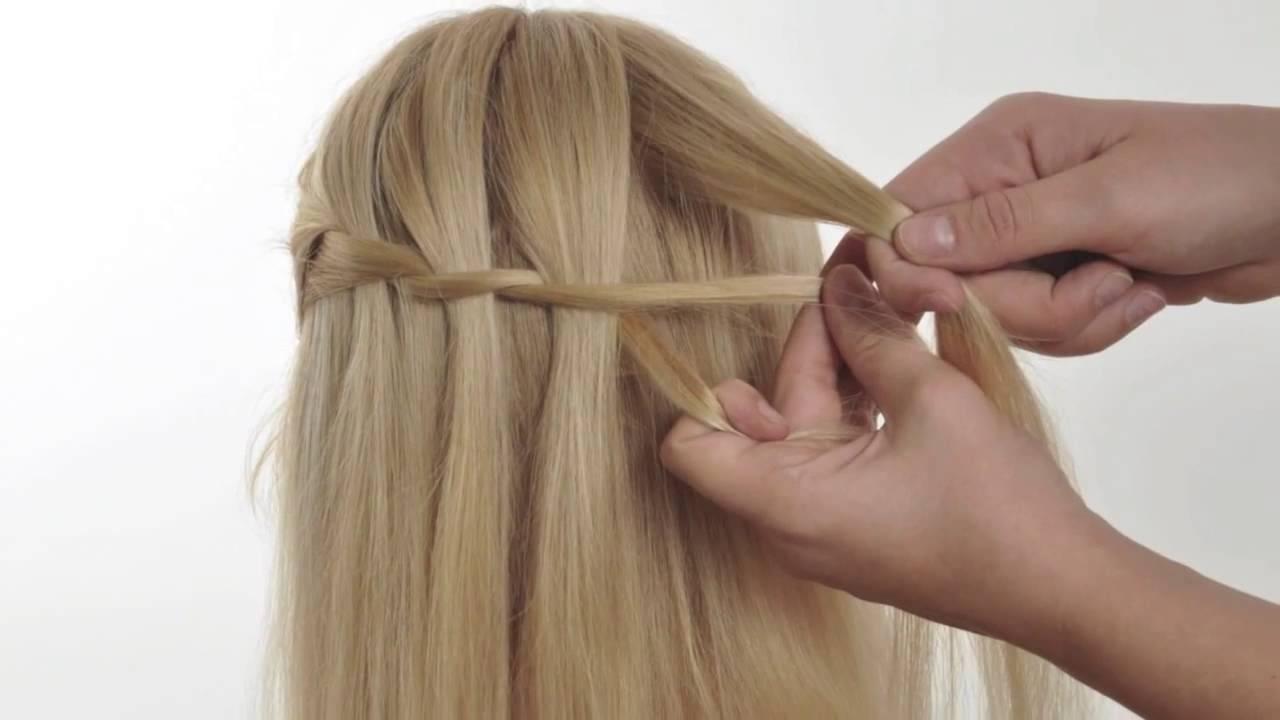 Косы на средние волосы самой себе