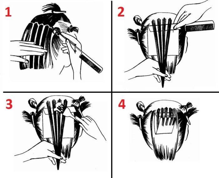 Секреты щадящего мелирования волос
