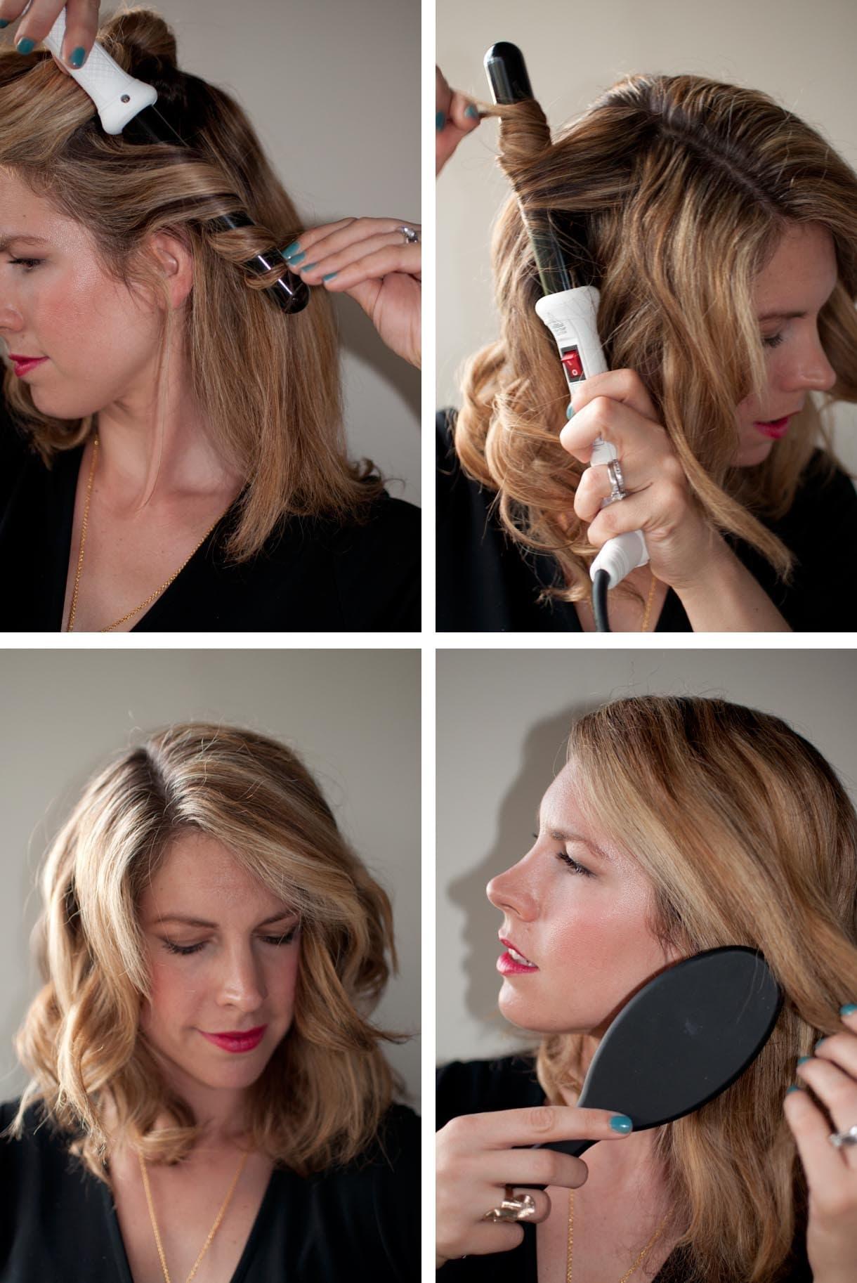 Локоны с прямыми концами (16 фото): как сделать кудри девушке с волосами средней длины? как завить длинные и короткие волосы?