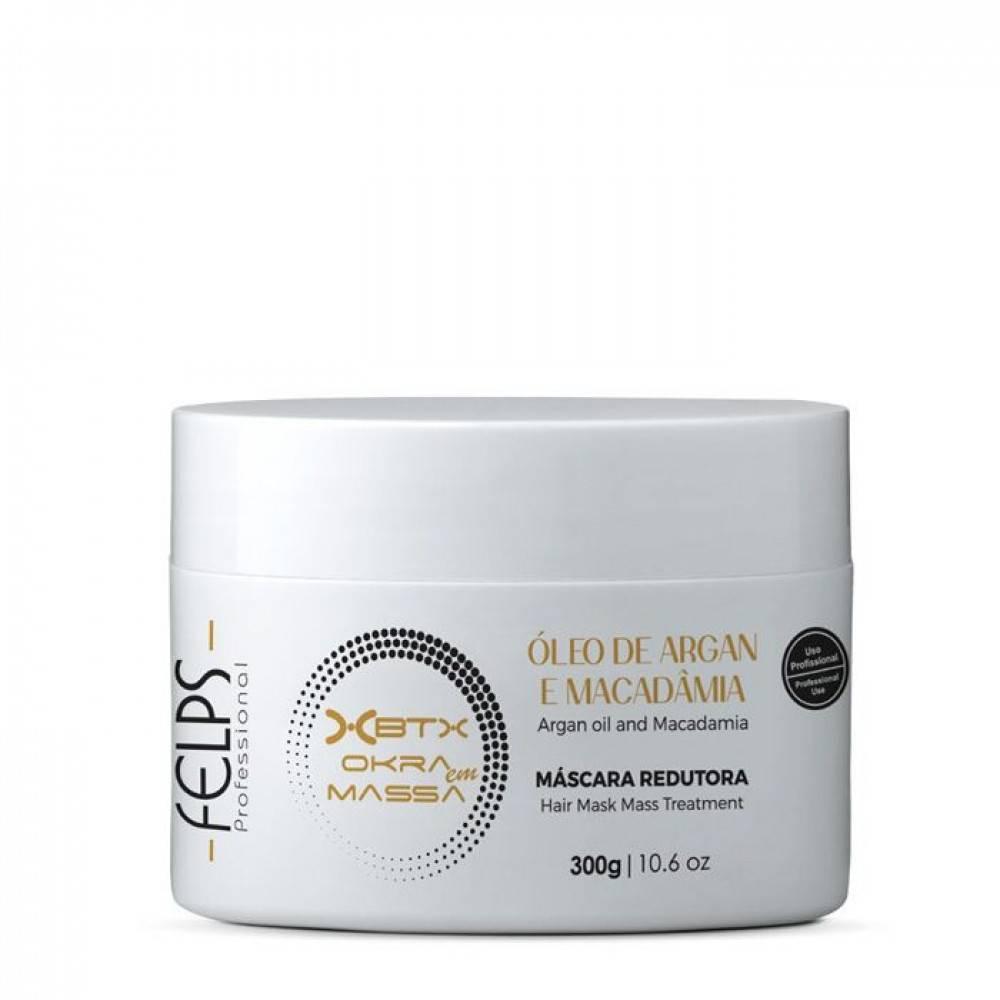 Фелпс(felps) xbtx okra mass и xmix banho de verniz  – ботокс для волос
