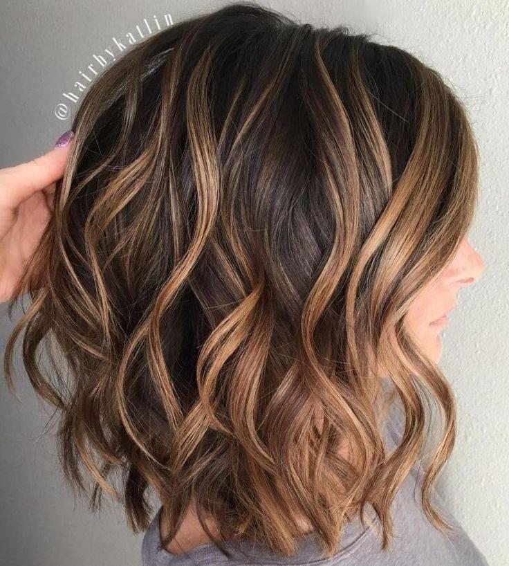 Техника окрашивания балаяж на темные, светлые и русые волосы