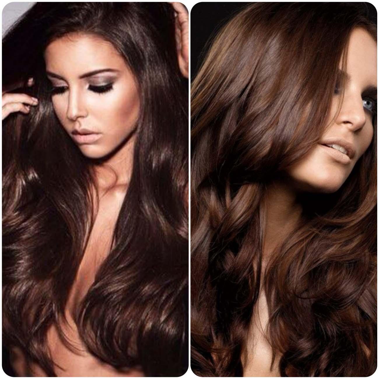 В какой цвет покрасить каштановые волосы? модные тенденции и красивые оттенки, фото - luv.ru