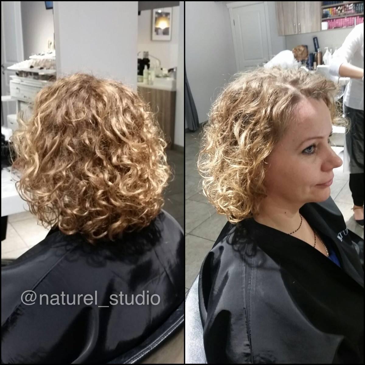 Химическая завивка волос. 25 фото волос после завивки.