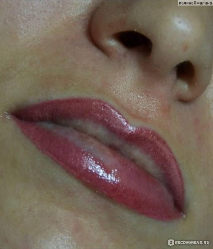 Перманентный макияж губ (татуаж губ) - что это, фото до и после
