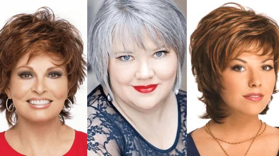 Стрижки для полных женщин (67 фото): выбираем модные прически для полных девушек по типу лица. какие стрижки подходят на средние и длинные волосы?