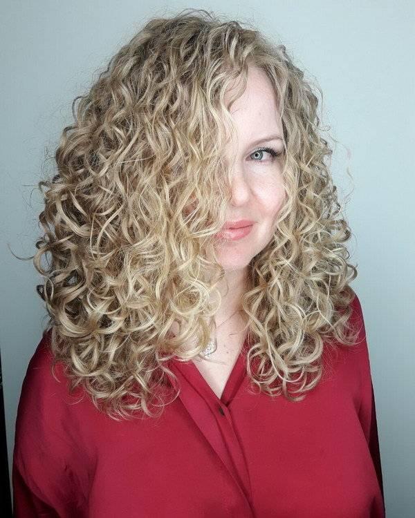 Завивка волос на длительное время: биозавивка, карвинг, кислотная (фото до и после)