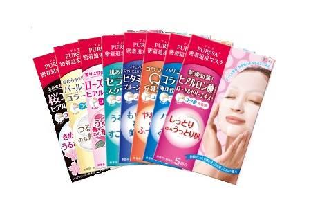 5 корейских масок для лица – тканевых из кореи