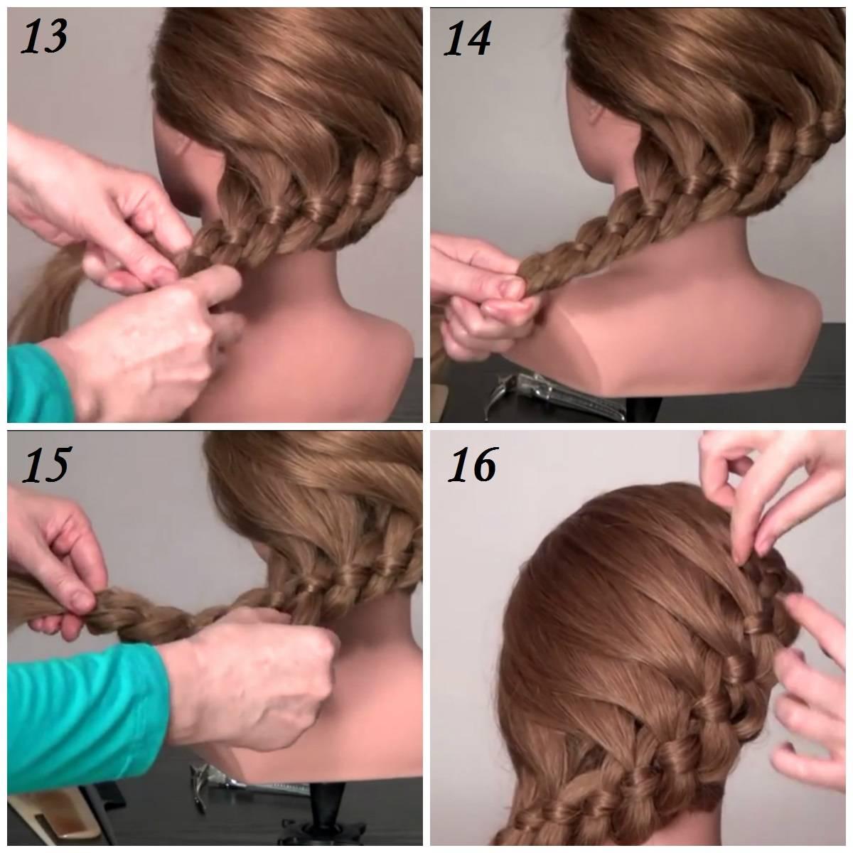 Как самой себе заплести косу: пошаговые инструкции с фото и видео
