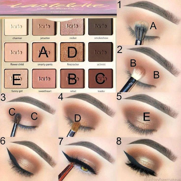Как красиво накрасить глаза тенями. пошаговая инструкция, фото для карих, зеленых, голубых, серых глаз