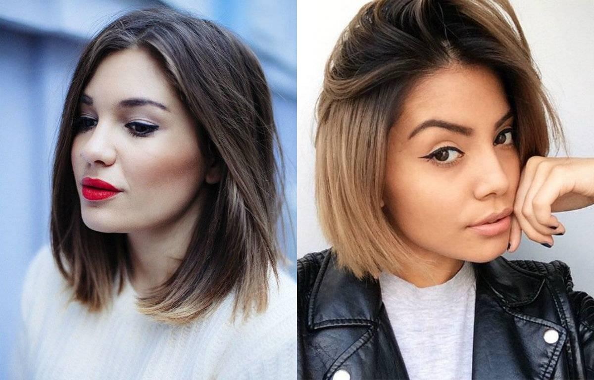 Модное окрашивание волос 2021 на средние волосы блонд