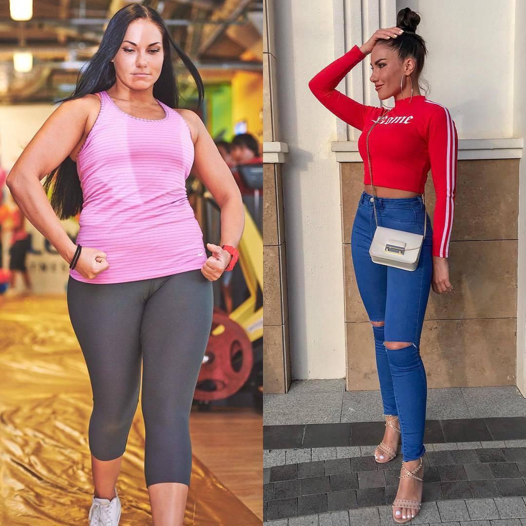 любовь сидоркина до и после похудения