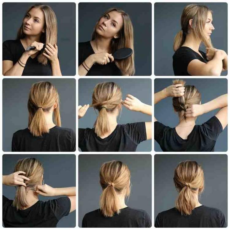 Легкие прически на короткие волосы (63 фото): быстрые и красивые укладки волос своими руками в домашних условиях