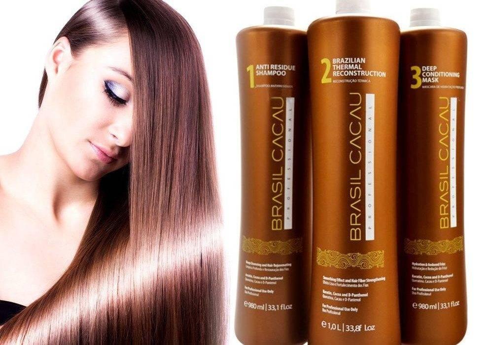 Набор средств для бразильского кератинового выпрямления волос brazilian blowout