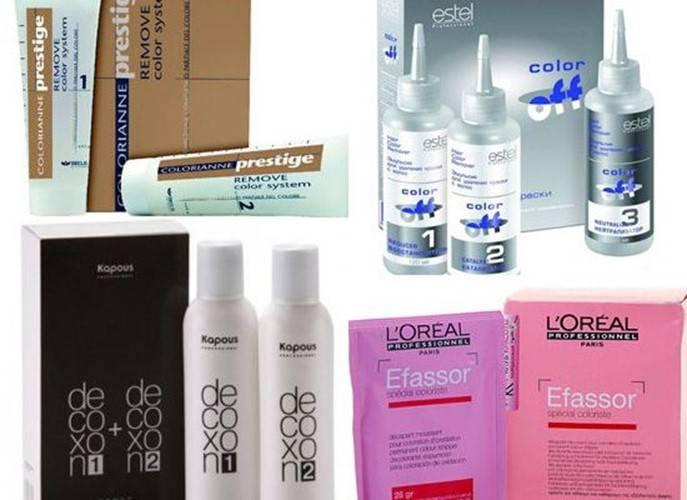 Смывка краски с волос в домашних условиях, лучшие народные и профессиональные методы