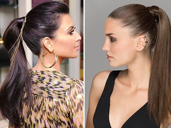 Как сделать высокие прически на длинные и средние волосы — пошаговые фото